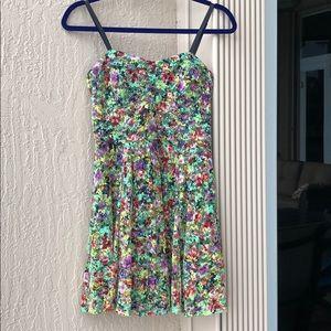 MATERIAL GIRL FLORAL DRESS